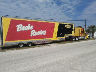 Double deck Narscar style semi-trailer