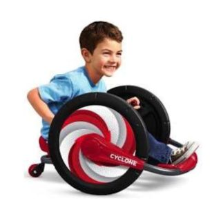 Radio Flyer Cyclone Kids Sit Spin Zoom Solid Steel Frame