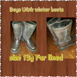 Boys UGG Winter boots size 13y