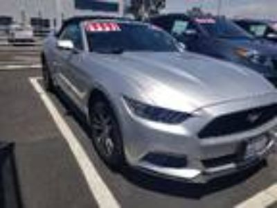 Used 2016 Ford Mustang Silver, 38.4K miles