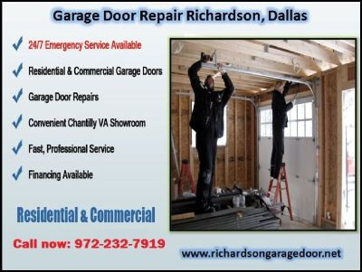 Local Texas Garage Repair Service Richardson 75081