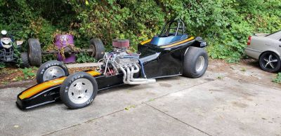 1923 FORD T ALTERED RACE/DRAG CAR-FULL CAR OR ROLLER