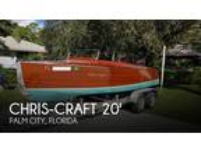 Chris-Craft - Model 100 Triple Cockpit Runabout