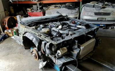 JDM Mazda Cosmo 20B Front Clip Motor Half Cut Rotary RX7 Eng