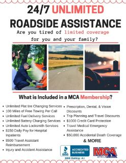 Unlimited Roadside Assistance