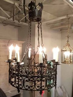 Antique Lighting | Antique Lamps | Dining Room Chandeliers | Pittet Architecturals