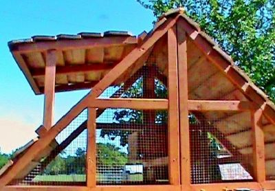ON SALE - Beautiful Affordable Chicken Coops Hen Houses -PORTABLE AND EASILY CLEANED-