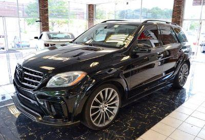 2013 Mercedes-Benz M-Class ML350 4MATIC (Black)