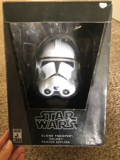 Star Wars Clone Trooper Helmet.