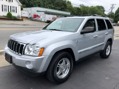 2006 Jeep Grand Cherokee Limited (Bright Silver Metallic)