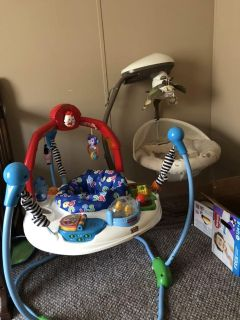 Jumperoo and swing