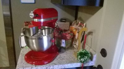 Kitchen Aid Red Mixer New - with Box