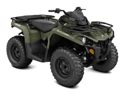 2018 Can-Am Outlander 570 Utility ATVs Bennington, VT
