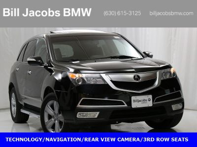 2010 Acura MDX Base w/Tech w/RES (Crystal Black Pearl)