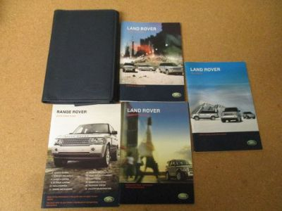 Sell 2008 08 LAND ROVER RANGE ROVER NAVIGATION MANUAL + OEM CASE! FREE SHIPPING! motorcycle in Suwanee, Georgia, United States, for US $25.00
