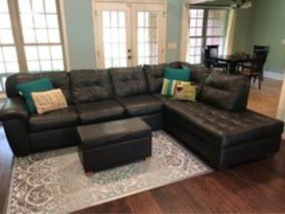 Sectional Sofa (Couch) & Ottoman