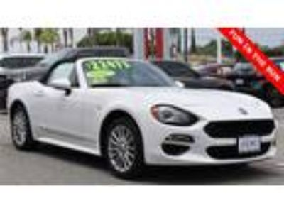 Used 2018 FIAT 124 Spider White, 182 miles