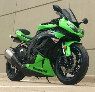 2012 Kawasaki Ninja ZX -6R SuperSport Motorcycles Plano, TX