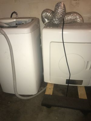 Portable/apartment washer & dryer