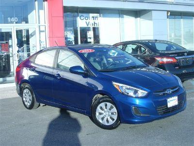 2017 Hyundai Accent GLS (Pacific Blue Pearl)