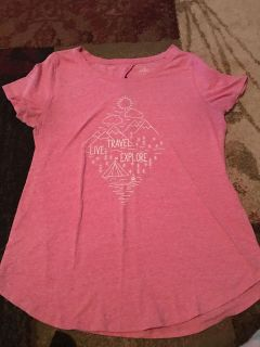 St. John s Bay pink top - ppu (near old chemstrand & 29) or PU @ the Marcus Pointe Thrift Store (on W st)