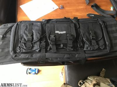 For Sale: Sig double rifle bag