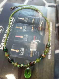 Handmade expensive bead necklace