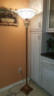 Victorian French Torchiere Floor Lamp
