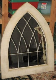 Unique Arch Shaped Mirror with Metal Frame