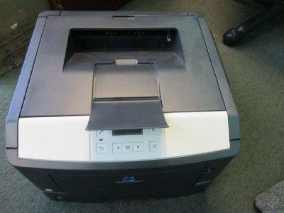 Konica Minolta Bizhub 3301P Laser Printer RTR# 9043939-02,04,05