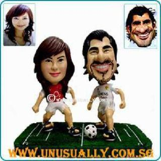 Customized 3d Caricature Soccer Figurine Made to Look Like U