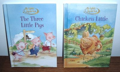 RARE Chicken Little Hardcover Books Children's Classics by Bright Sparks...