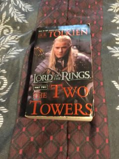 Book Lord of the Rings Two Towers by JRR Tolkien Part 2
