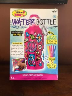 Design a Water Bottle