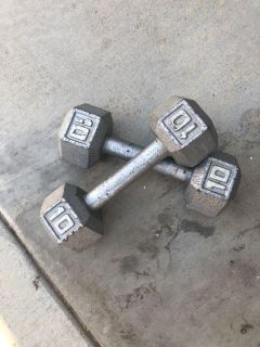 10 pound dumbbell weights