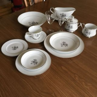 10 Piece China Place settings