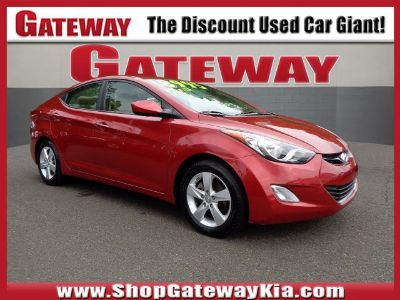 2012 Hyundai Elantra GLS (Red Allure)