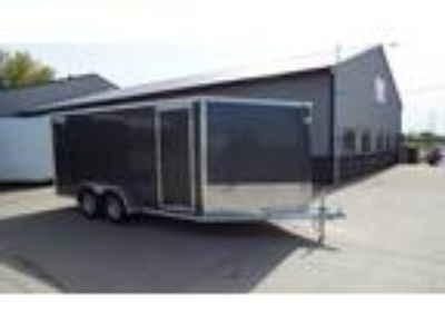 2019 Mission Trailers MEC 7' x 16' Aluminum Enclosed Trailer