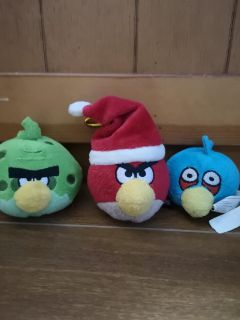 Little angry birds set