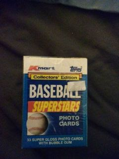 1990 Topps Baseball Kmart Superstars Factory Set