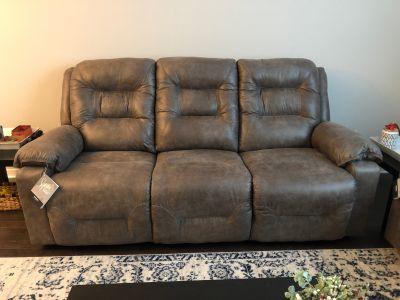 Rotation reclining sofa
