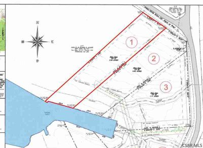 729 Peninsula Dr. Central City, Water front lot on Indian