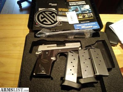 For Sale/Trade: SIG P938 BLACKWOOD