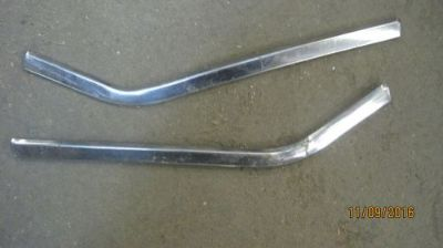 Sell 1957 Chevrolet interior rear quarter trim moldings motorcycle in Shawnee, Kansas, United States, for US $30.00