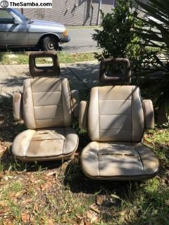 Decent Vanagon Westfalia Front Seats