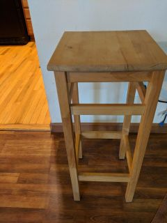 Wood Stool/Plant Stand