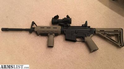 For Sale: Palmetto State Armory M4 + ammo + optic + mags.