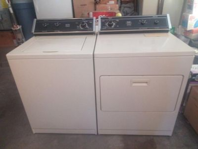 Maytag washer and dryer set . HD large capacity, both work great.