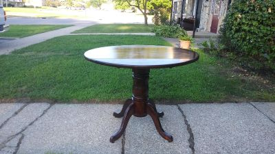 Refurbished Kitchen or Dining. Table( folds down )