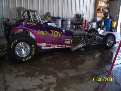 Altered Race car